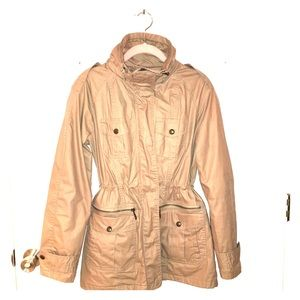 Michael Kors Khaki Rain Jacket